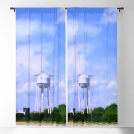 Historic Frederick Maryland Crestwood Water Tower Blackout Curtain
