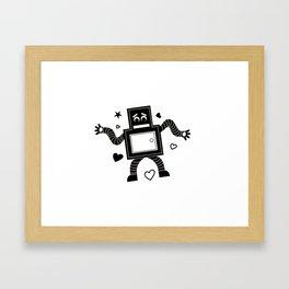 Rant Robot Framed Art Print