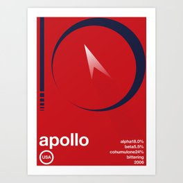 apollo single hop Art Print