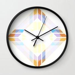 Retro Rocket 45 Wall Clock