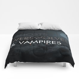 Ghosts, Werewolves & Vampires Comforters
