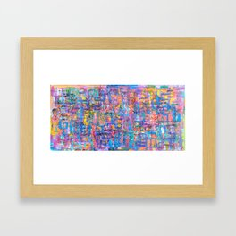 11 1.12.12 Framed Art Print