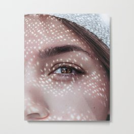 Gleam Metal Print
