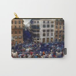 The Spanish Steps 4138 - Rome, Italy Carry-All Pouch
