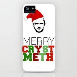 Merry Crystmeth! iPhone Case