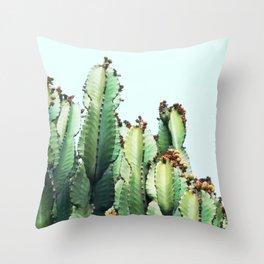 Cactus Love #society6 #decor #buyart Throw Pillow