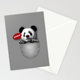 KIDNAP Stationery Cards