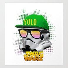 Stormtrooper Swag Art Print