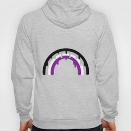 Dripping Asexual Rainbow Asexual Gift Hoody
