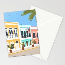Old San Juan, Puerto Rico Stationery Cards