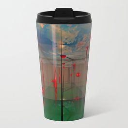 3d Digital Art Space Travel Mug