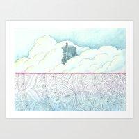Mandala Ocean Art Print