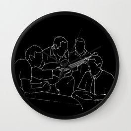 Wes and Duke jam session Wall Clock