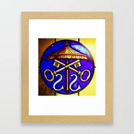 Cross Keys Framed Art Print