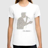 bastille T-shirts featuring Bastille Poet Lyrics by OhHolyBastille