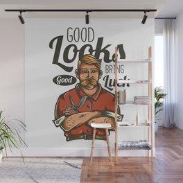 Good Looks - Good Luck Wall Mural
