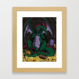 The Dragon Mother Framed Art Print