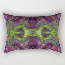 Watercolor Strength Print No. 2 Rectangular Pillow