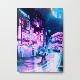 Tokyo 2077 Metal Print