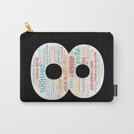 Life Path 8 (black background) Carry-All Pouch