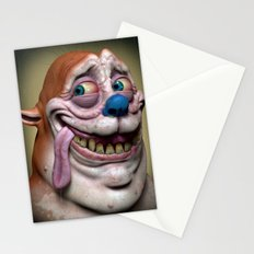 Stimpy Stationery Cards