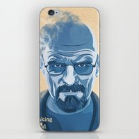 heisenberg iPhone & iPod Skins featuring Heisenberg by James Northcote