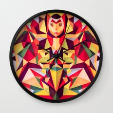 In the Middle of Something Wall Clock