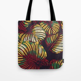 Abstract leaves Tote Bag