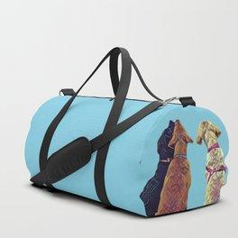Three Amigos I in aqua Duffle Bag