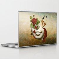 broken Laptop & iPad Skins featuring Broken by Diogo Verissimo