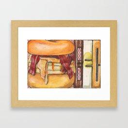 A BEC for your morning Framed Art Print
