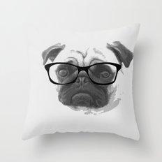 Pugster Throw Pillow