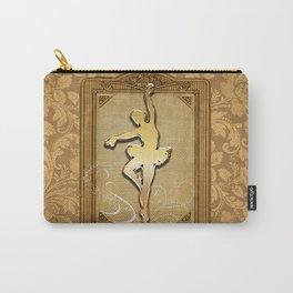 Golden ballerina Carry-All Pouch