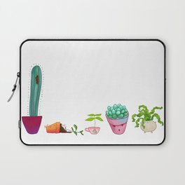 Potted Plant Critters 2 Laptop Sleeve
