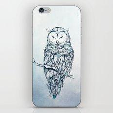 Snow Owl iPhone & iPod Skin