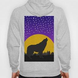 Wolf Moon Stars Hoody