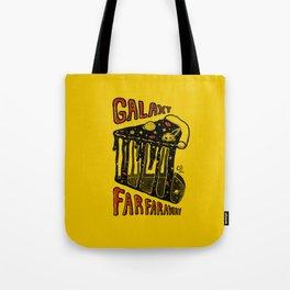 Galaxy slice Tote Bag