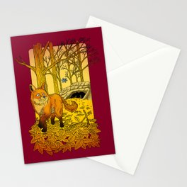 First Snowflake of Winter Stationery Cards