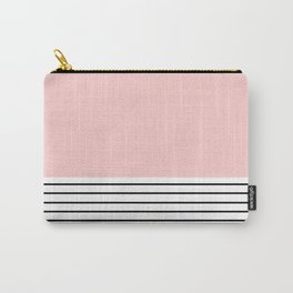 Pink n Stripes  Carry-All Pouch