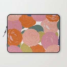 Flowers In Full Bloom Laptop Sleeve