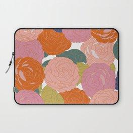 Flowers In Full Bloom Laptop Sleeve