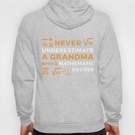 A Grandma With A Mathematic Degree TShirt Hoody