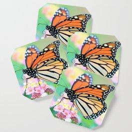 October Monarch Coaster