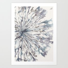 flower Detail Art Print