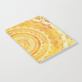 Sun Mandala 4 Notebook