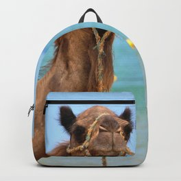 Beach camels Backpack