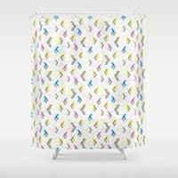 jem Shower Curtains featuring Jem 1 by Kukka