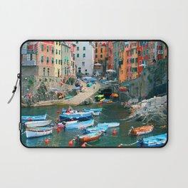 Italy. Cinque Terre marina Laptop Sleeve