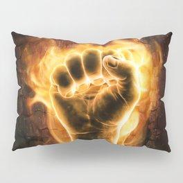 Fire fist Pillow Sham