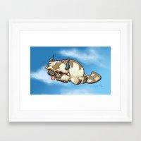 appa Framed Art Prints featuring Appa by Lara Pratt
